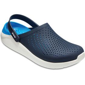 Crocs LiteRide Clogs Unisex, navy/white